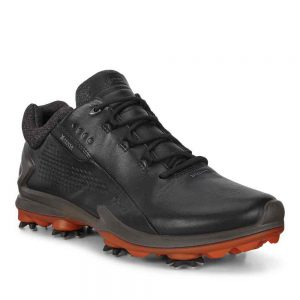 ECCO Men's Biom G3 Cleated Golf Shoes Black