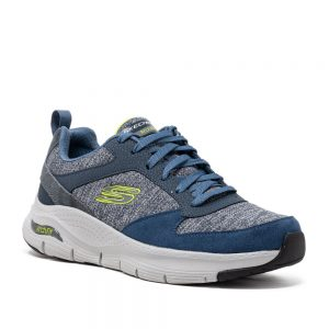 Skechers Arch Fit Navy. Premium Trainers